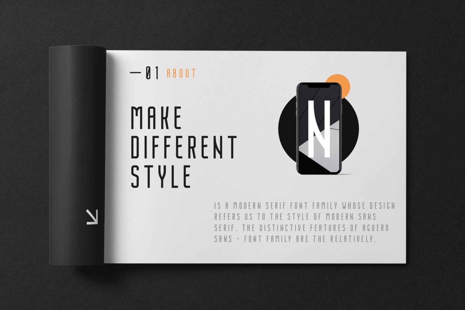 Nordin - Condensed Sans Serif Font - 05 1 1 -
