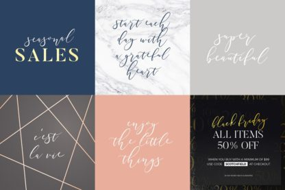 Southfield Typeface - christchurch preview 3 3 -
