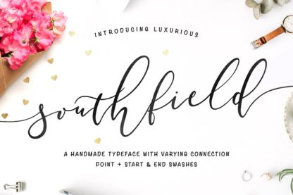 Southfield Typeface - christchurch preview 1 5 -