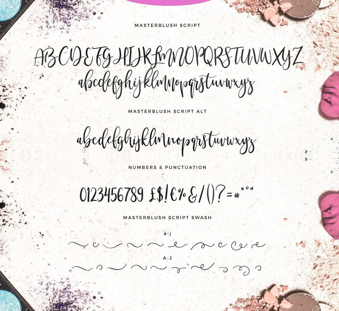 Masterblush Font - masterblush brush script font 9 5 -
