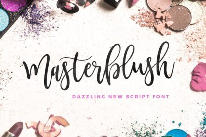 Masterblush Font - masterblush brush script font 1 alt2 3 -
