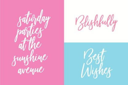 Beautiful Bloom Typeface - 05 beautiful bloom preview image 4 -