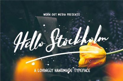 Typographer's Dream Box + 200 Logos - 18 hello stockholm -