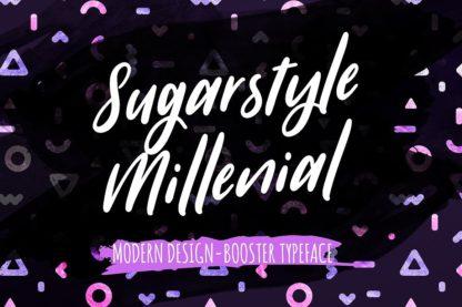 Typographer's Dream Box + 200 Logos - 10 sugarstyle millenial -