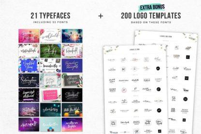 Typographer's Dream Box + 200 Logos - describtion 2 2 -