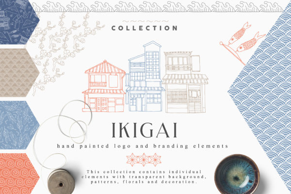 """<span style=""""display: none"""">Marketplace for Fonts, SVG files, Lightroom Presets and more</span> - ikigai first image -"""