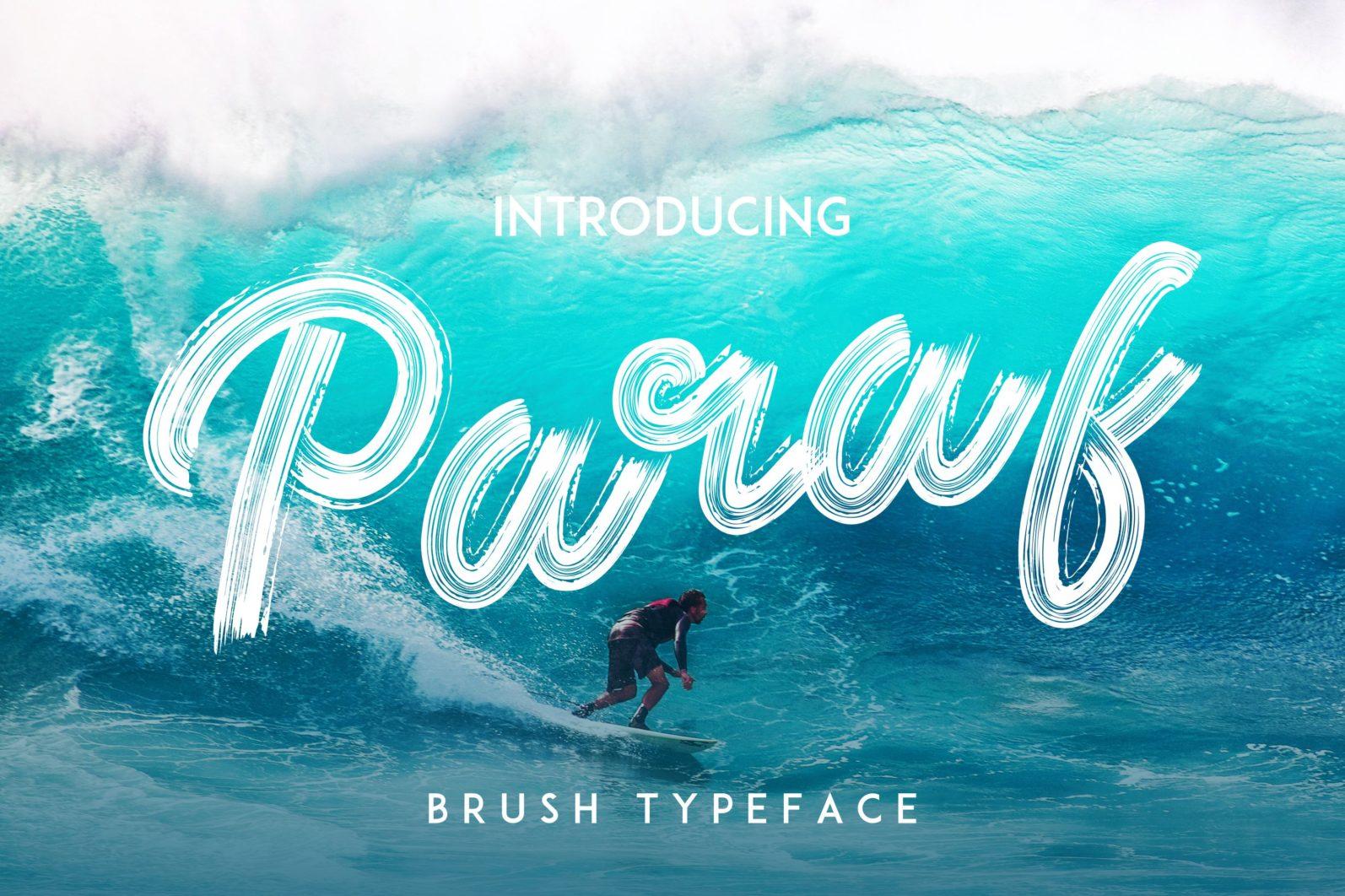 Paraf Brush Font - 124 scaled -