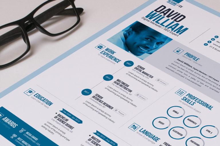 Resume Template - 03 Resume design template -