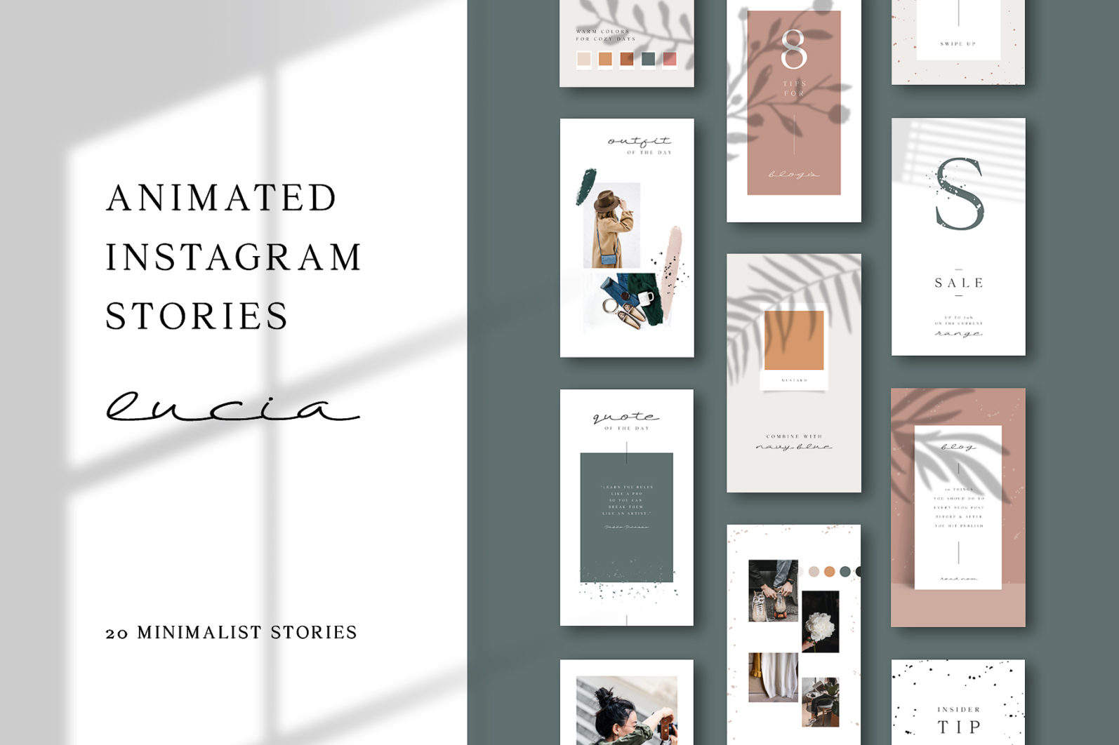 ANIMATED Instagram Stories – Lucia - preview 012 -