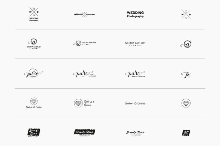30 Premade Logos – Feminine Edition - Unbenannt 10 b -