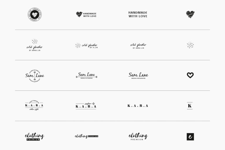 30 Premade Logos – Feminine Edition - Unbenannt 10 d -