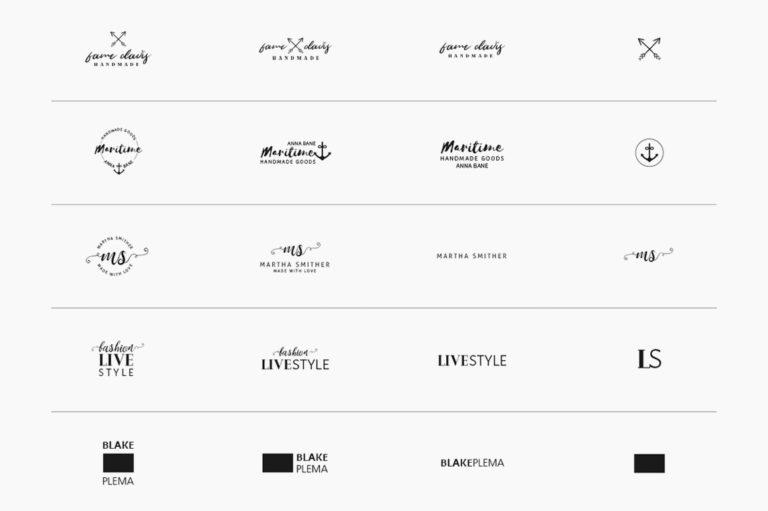30 Premade Logos – Feminine Edition - Unbenannt 10 e -