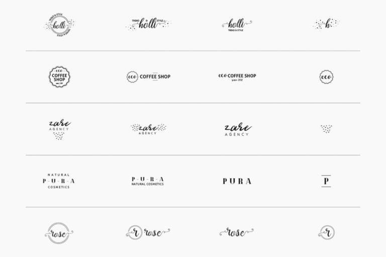 30 Premade Logos – Feminine Edition - Unbenannt 10 f -