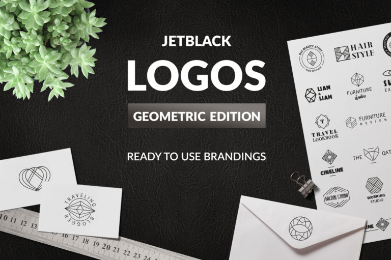 30 Premade Logos – Geometric Edition - Unbenannt 13 -