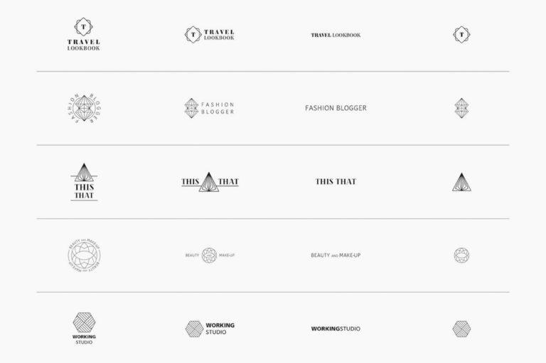 30 Premade Logos – Geometric Edition - Unbenannt 2 g -