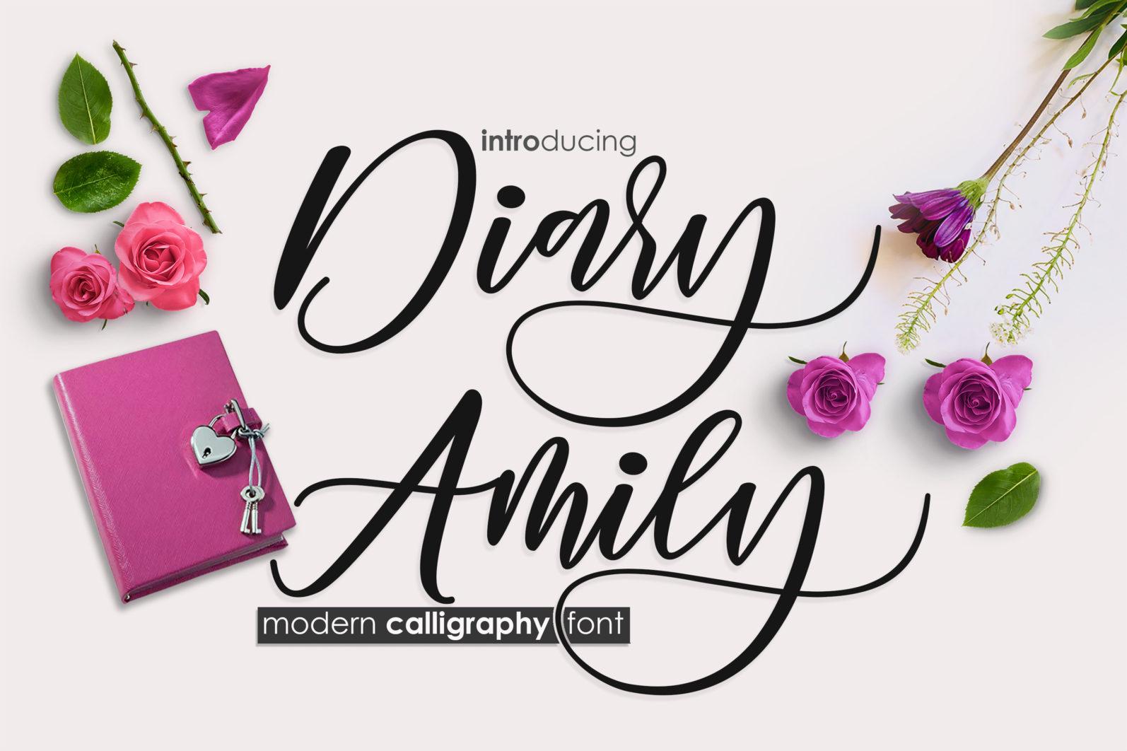 Diary Amily - diary amily 1 oke scaled -