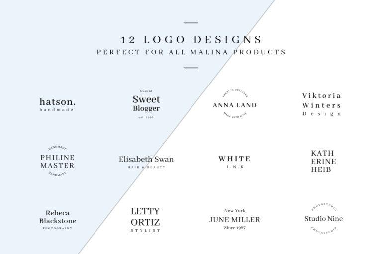 MALINA Business Cards + Logos + Seamless Patterns - Unbenannt 3 a -