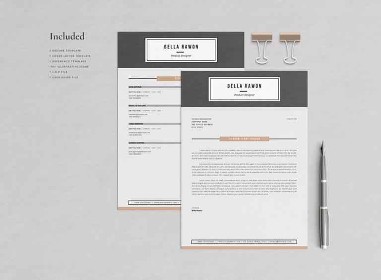 Bella Rawon - Resume/CV Template - Preview03 -