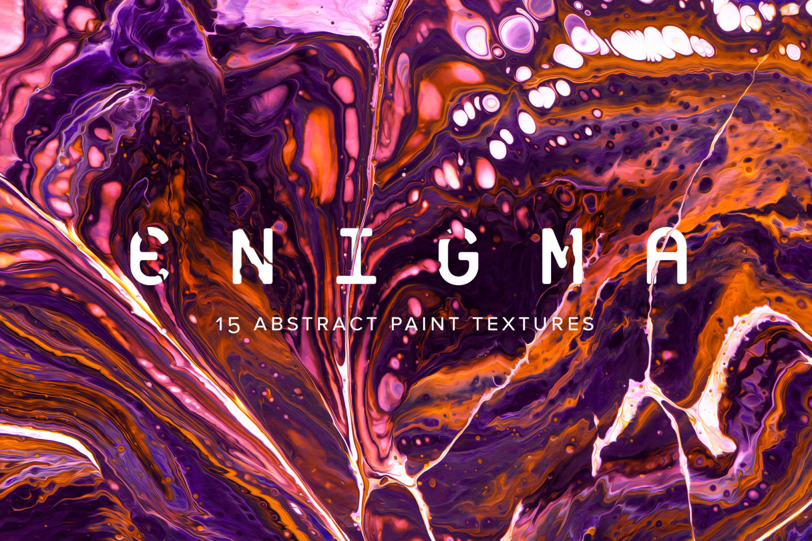 Enigma: 15 Abstract Paint Textures - 00 Enigma Product imagery main -