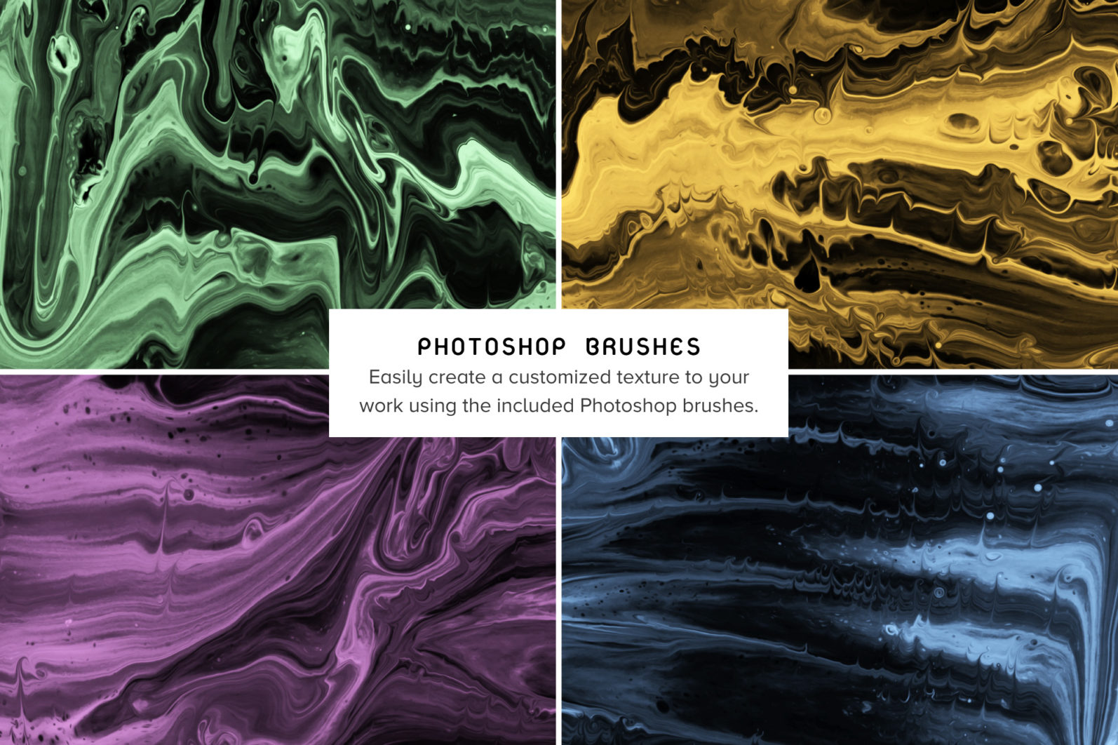 Enigma: 15 Abstract Paint Textures - 04 Enigma Product imagery Brushes -