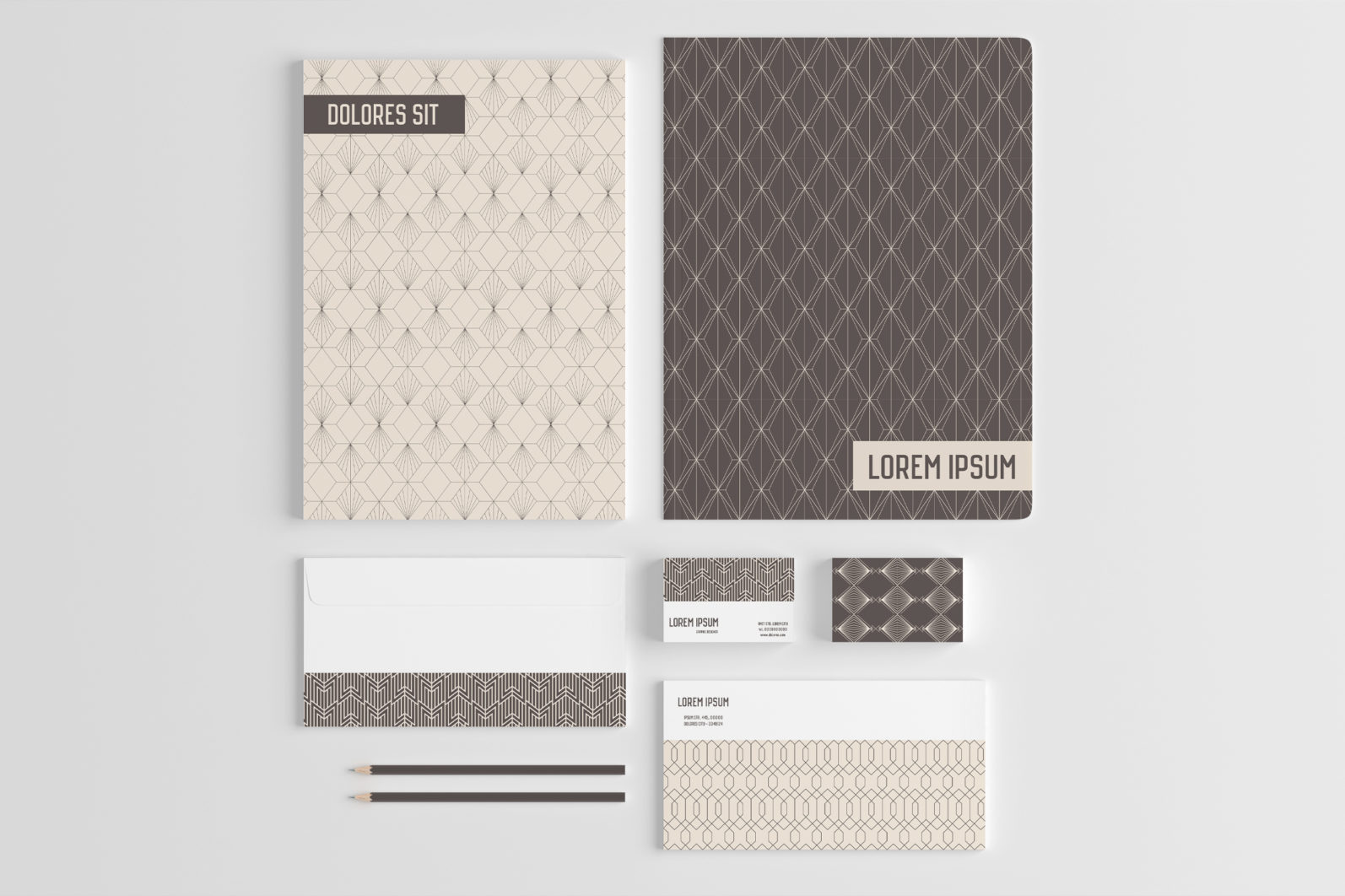 Geometric Art Deco Seamless Patterns - art deco 5 scaled -