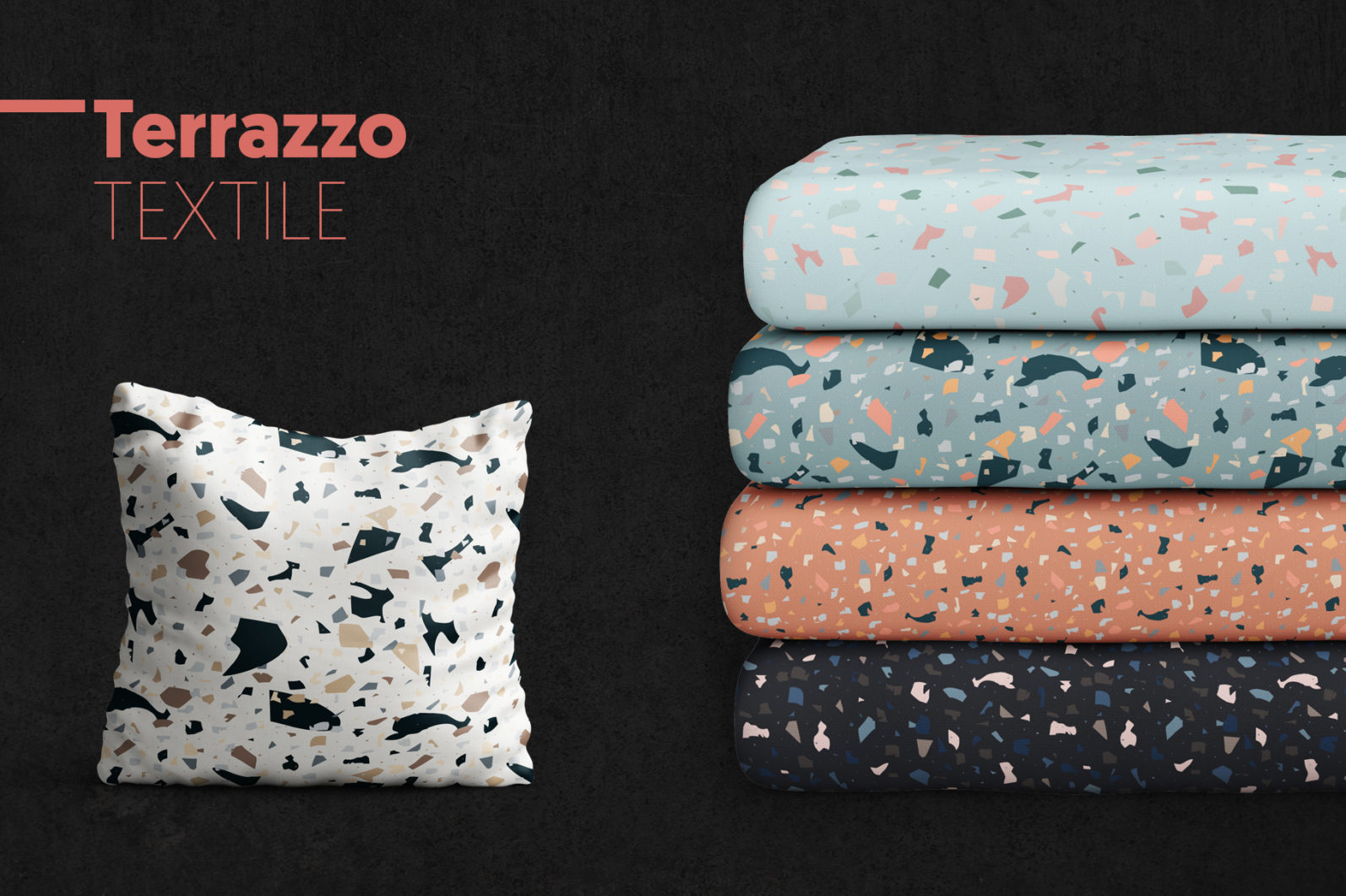 Terrazzo Seamless Patterns - preview 32 -