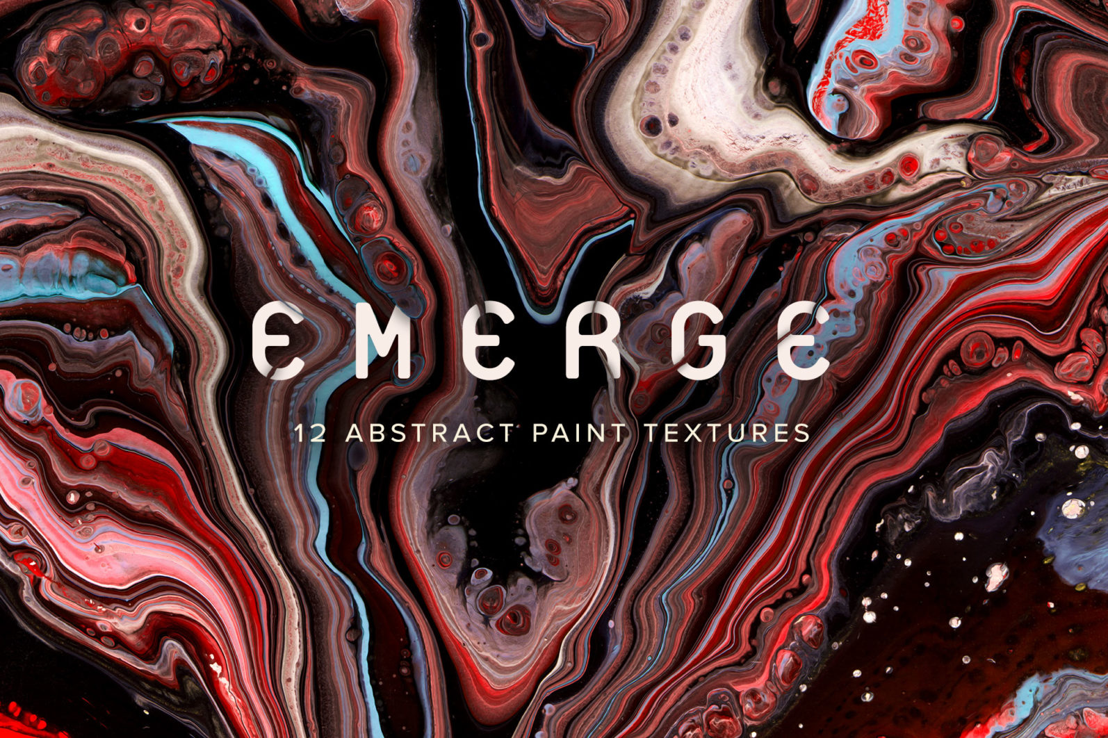 Emerge: 12 Abstract Paint Textures - 00 Emerge preview main -