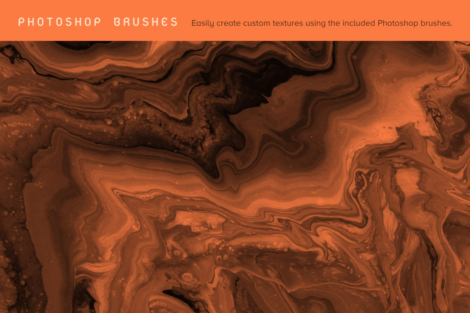 Emerge: 12 Abstract Paint Textures - 04 Emerge preview Brushes -