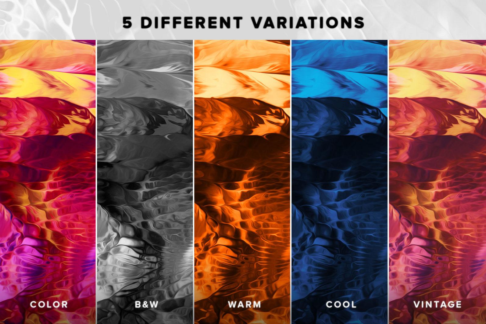 Flow, Vol. 2: 100 Smooth Paint Textures - Flow Vol 2 Preview 04 -