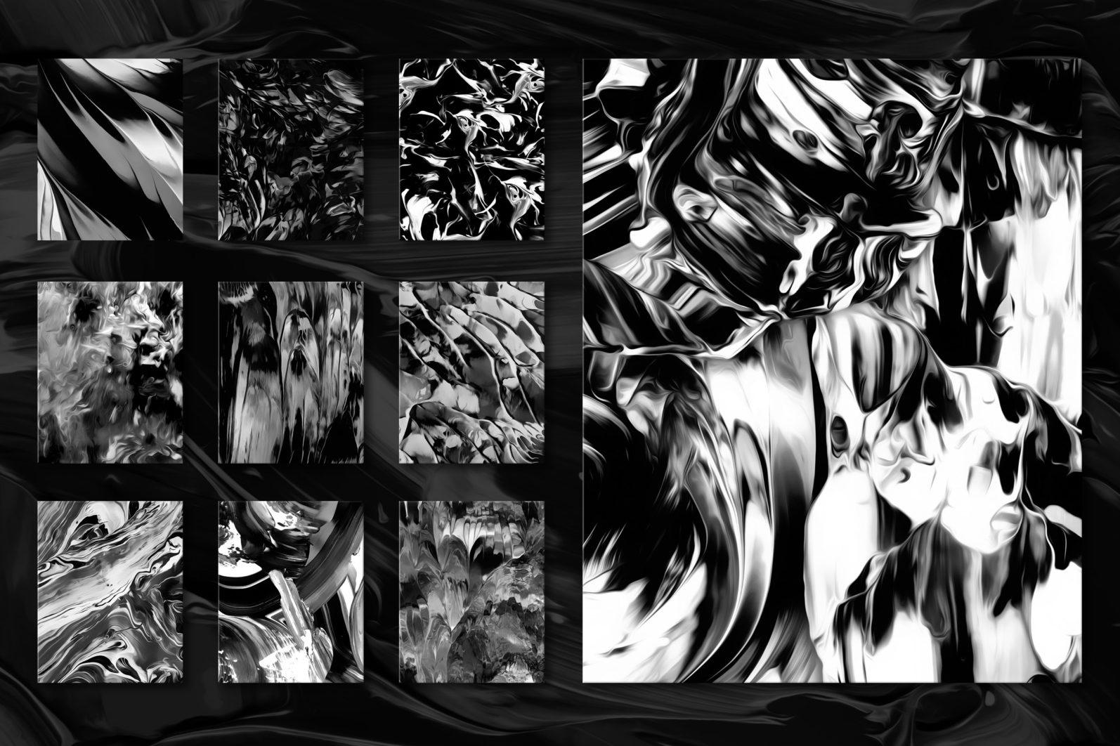Flow, Vol. 2: 100 Smooth Paint Textures - Flow Vol 2 Preview 07 -