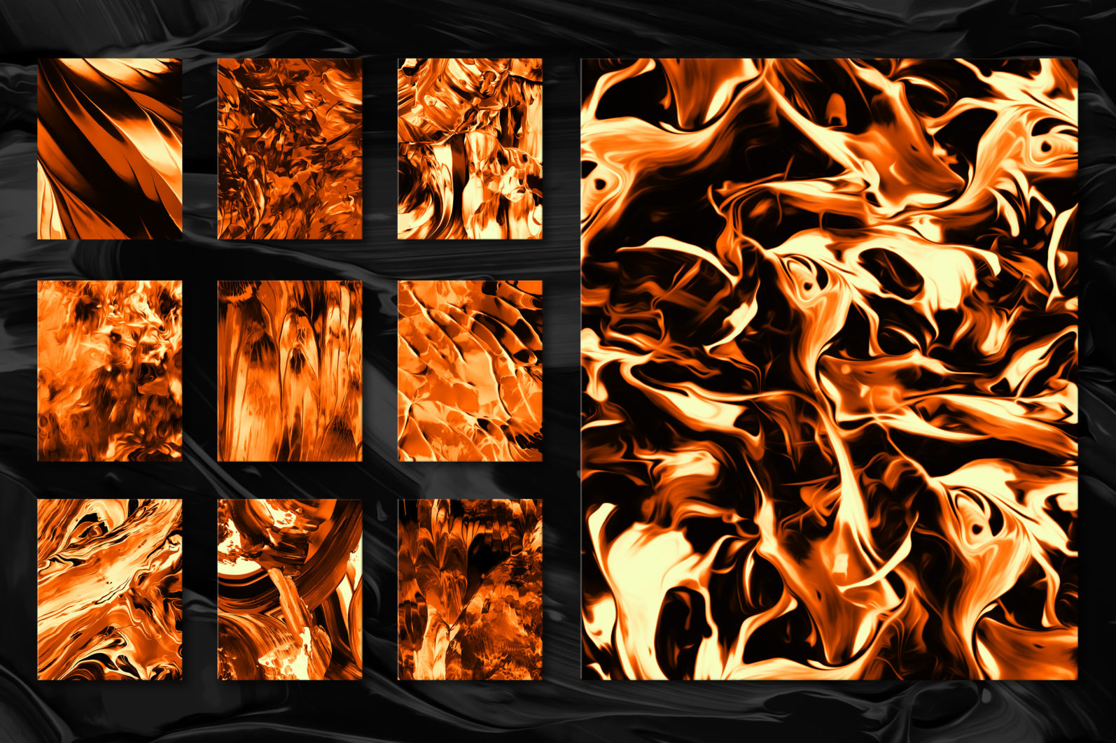 Flow, Vol. 2: 100 Smooth Paint Textures - Flow Vol 2 Preview 09 -