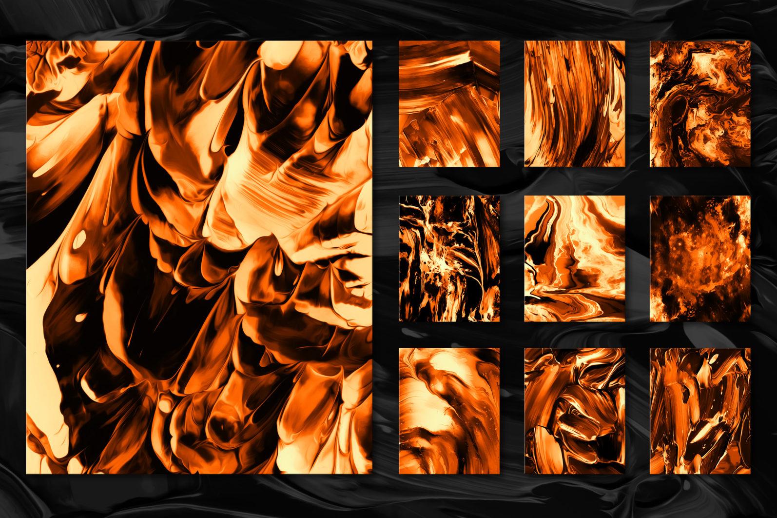 Flow, Vol. 2: 100 Smooth Paint Textures - Flow Vol 2 Preview 10 -