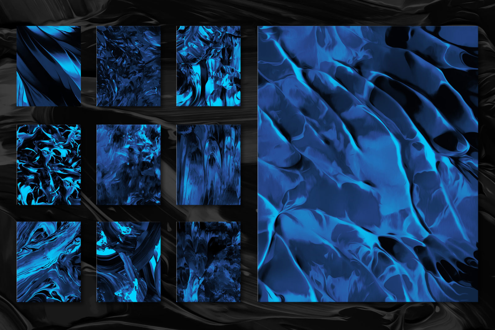 Flow, Vol. 2: 100 Smooth Paint Textures - Flow Vol 2 Preview 11 -