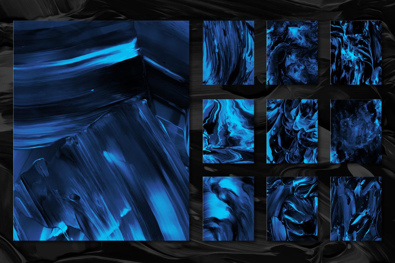Flow, Vol. 2: 100 Smooth Paint Textures - Flow Vol 2 Preview 12 -