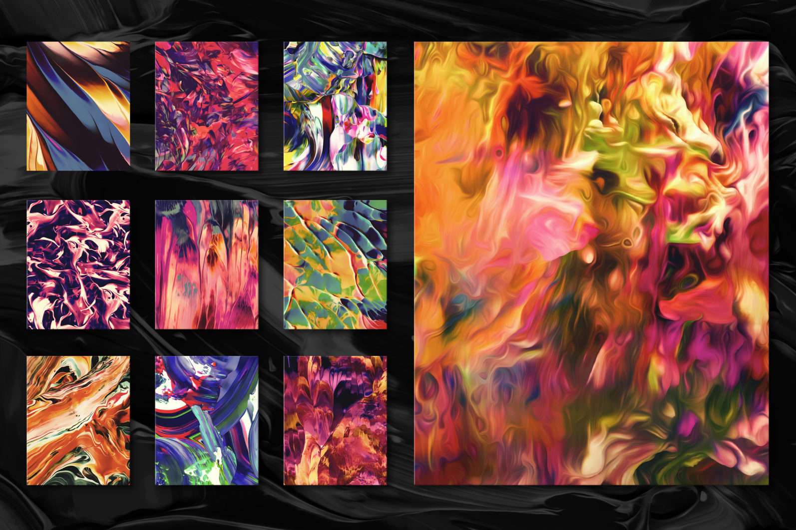 Flow, Vol. 2: 100 Smooth Paint Textures - Flow Vol 2 Preview 13 -