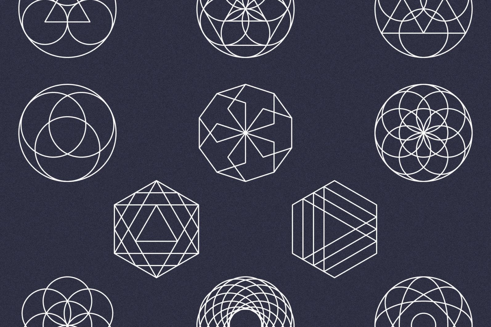 Sacred Geometry Vector Megabundle - Sacred Geometry Preview W2 scaled -