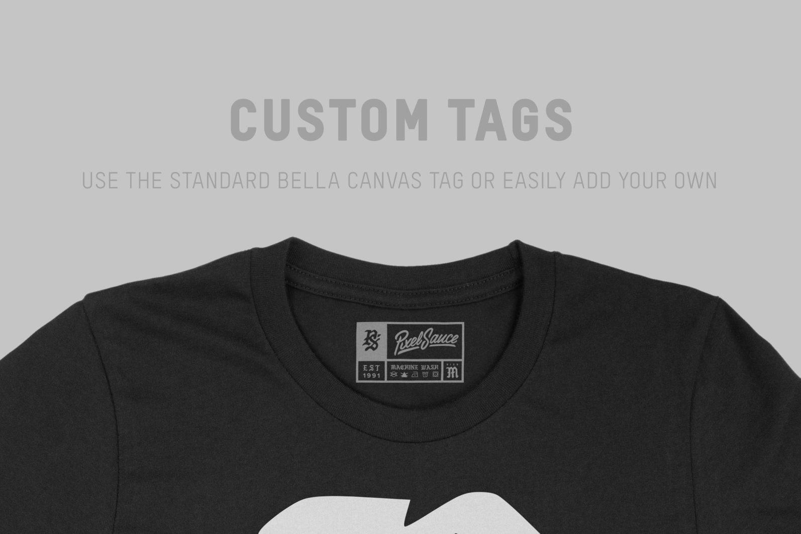 Bella Canvas 3001 T-Shirt Mockups - ps bc 3001 07 -