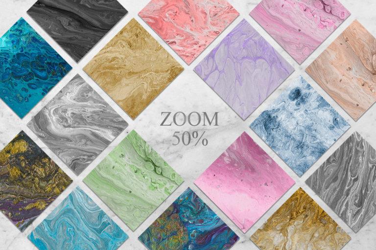 108 Flow Liquid Textures - Flow2 -