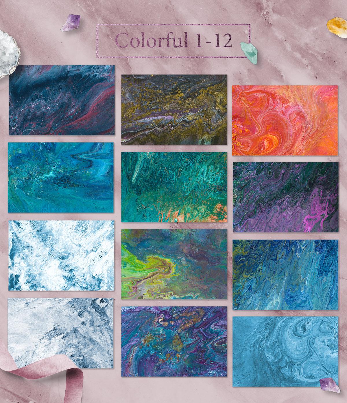 108 Flow Liquid Textures - Flow5 -