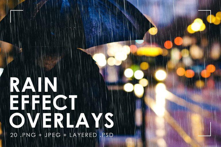 Realistic Rain Overlays - 18 -