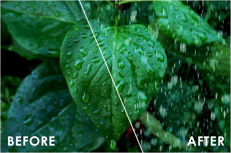 Realistic Rain Overlays - 35 -