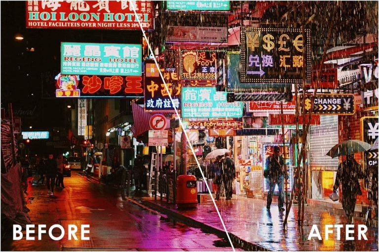 Realistic Rain Overlays - 43 -