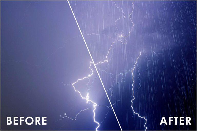 Realistic Rain Overlays - 52 -