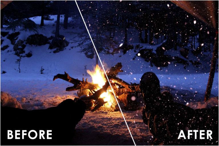 Snow Effect Overlays - Prev16 -