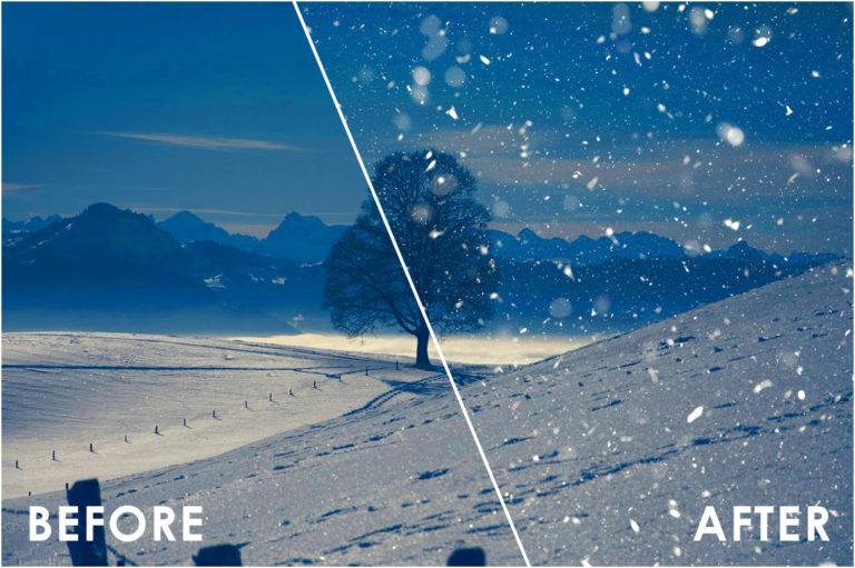 Snow Effect Overlays - Prev64 -