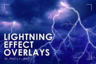 Winter Lightroom Presets - lightning overlays prev 1 -