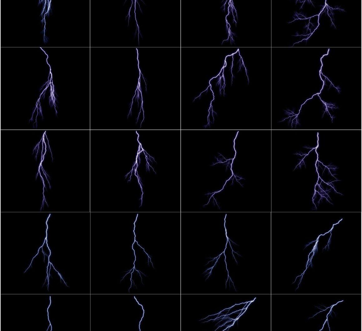 Lightning Effect Overlays - lightning overlays prev 2 scaled -