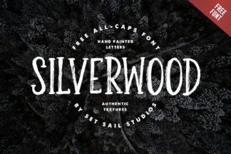 free font - Silverwood Font