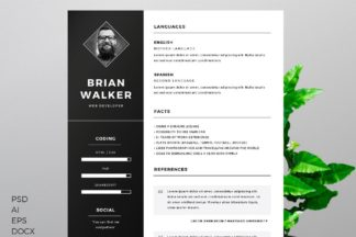 All Freebies - Free Resume Template for Microsoft Word Photoshop and Illustrator -