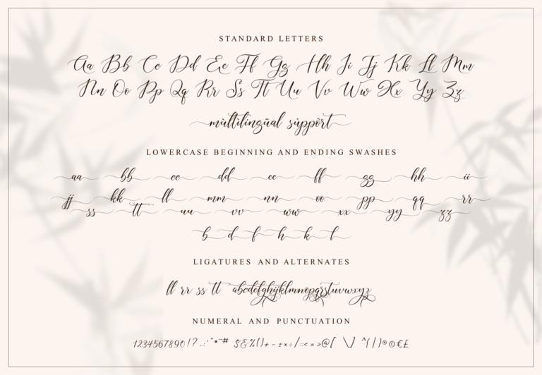 Aisyah | Lovely Font - 1118 -
